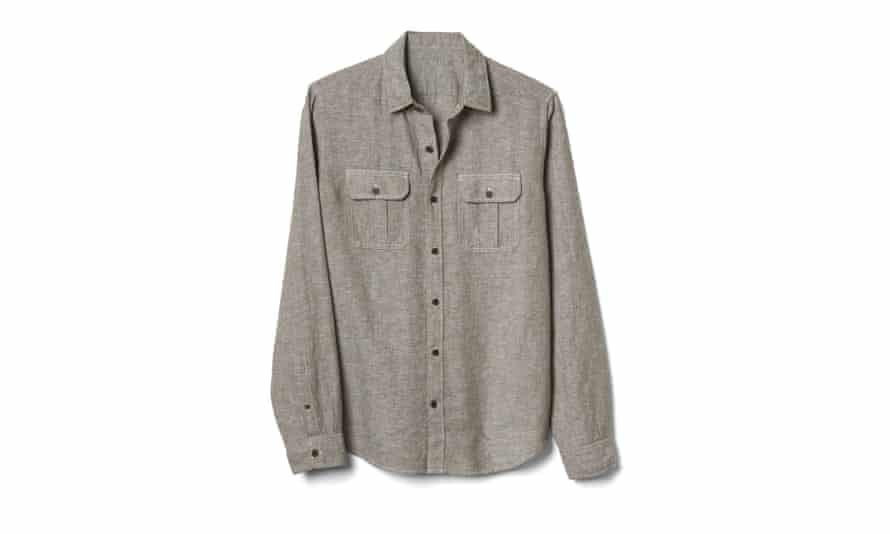 Linen-cotton shirt, £39.95gap.co.uk