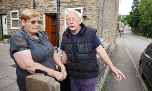 Lorraine Ellis and Malcolm Venton