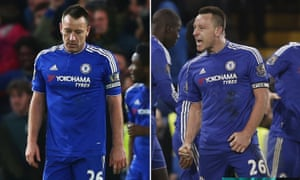 The low and then the high for Chelsea's John Terry on his 700th club appearance.