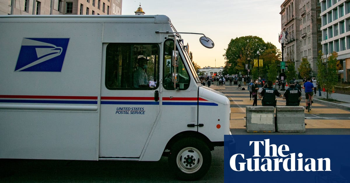 US postal worker recants voter-fraud claims after Republicans call for inquiry – reports – The Guardian