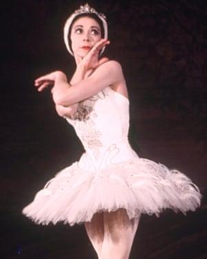 Margot Fonteyn in Swan Lake.