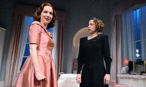 Katherine Parkinson and Michelle Terry in Before The Party at the Almeida theatre, London.