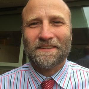 Nick Moss, headteacher Minchinhampton C of E Primary Academy Gloucestershire