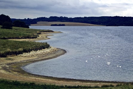 Rutland Water, Europe's largest manmade lake, attracts waders, ducks and geese during autumn.