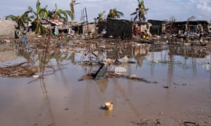 Cyclone-hit areas are at risk of waterborne diseases such as cholera and malaria.