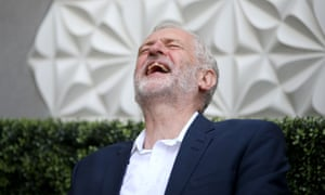 Jeremy Corbyn enjoys a public meeting at the Stand Comedy Club in Edinburgh on Friday… but there's little light relief in prospect for his party.