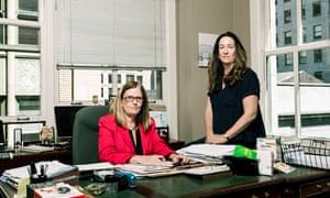 Lawless sisters in their office