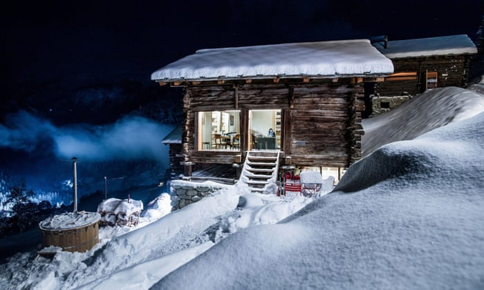 Swiss Alps Old Huts To Chic Chalets Travel The Guardian