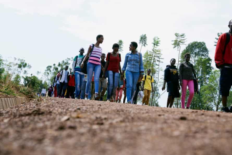 Le projet a été réalisé sur une terre qui est la propriété du village pour jeunes Agahozo-Shalom.