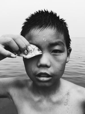 Second place in photographer of the year – a young boy fishing in Yantai Shandong province, China. Shot on iPhone 6.