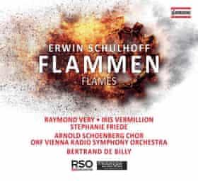 Erwin Schulhoff: Flammen album cover.