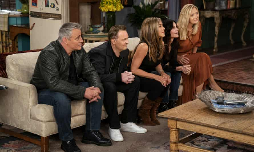 'Fans deserved more than this half-hearted production' ... Friends: the Reunion.