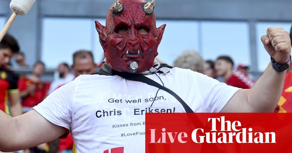 Denmark v Belgium: Euro 2020 – live!