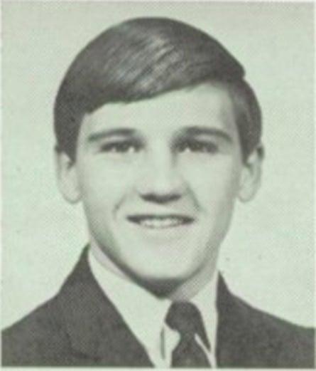 James Hodgkinson's 1968 high school yearbook photo