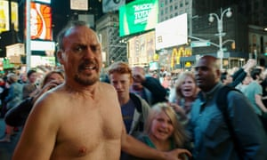 Michael Keaton in Birdman … the only leading character over 60 among 25 best picture nominees.