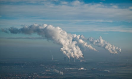 Ferrybridge, Eggborough and Drax Coal Fired Power Stations, Yorkshire, January 2009