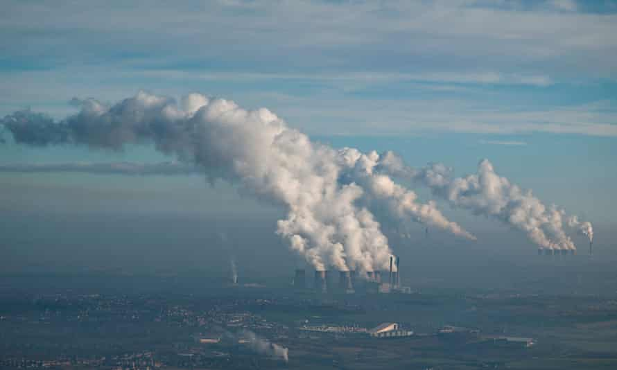 How we were: Ferrybridge, Eggborough and Drax coal fired power stations, in January 2009.