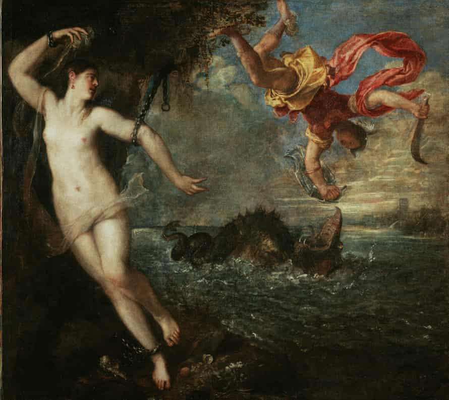 Titian's Perseus and Andromeda (1554-56).