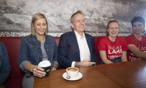 Labor leader Bill Shorten and the newly elected member for Longman, Susan Lamb.