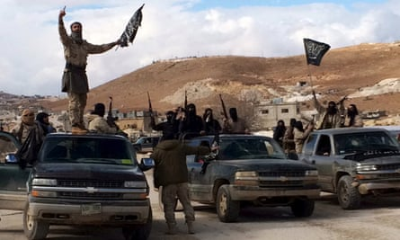 Al-Nusra Front fighters. The report warned about leaving the group unchallenged.