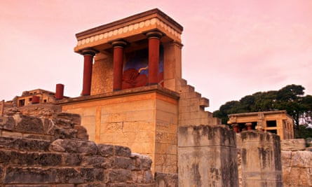 Knossos in Crete