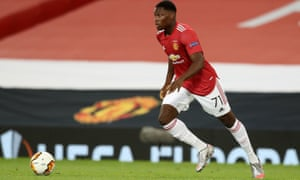 Manchester United's Teden Mengi will be hoping for more first-team action