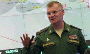 Russian Defence Ministry spokesman Maj-Gen Igor Konashenkov.