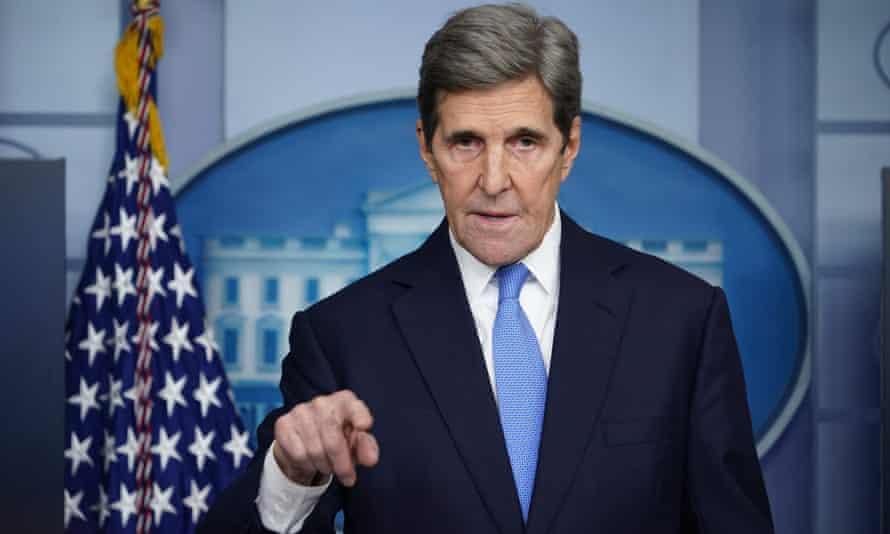 Joe Biden's climate envoy John Kerry