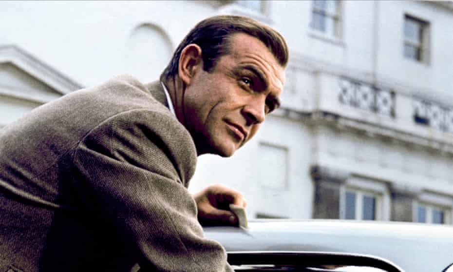 Sean Connery in Goldfinger, 1964.