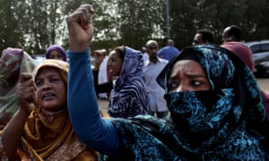 Women protest in 2013, the last time the country witnessed a popular uprising against the government.