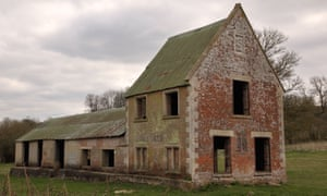The former Seagram's Farm in Imber, the Wiltshire village requisitioned for second world war training.