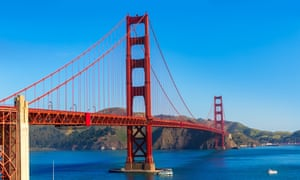 The Golden Gate Bridge San Francisco, where the fall AGU conference is held.