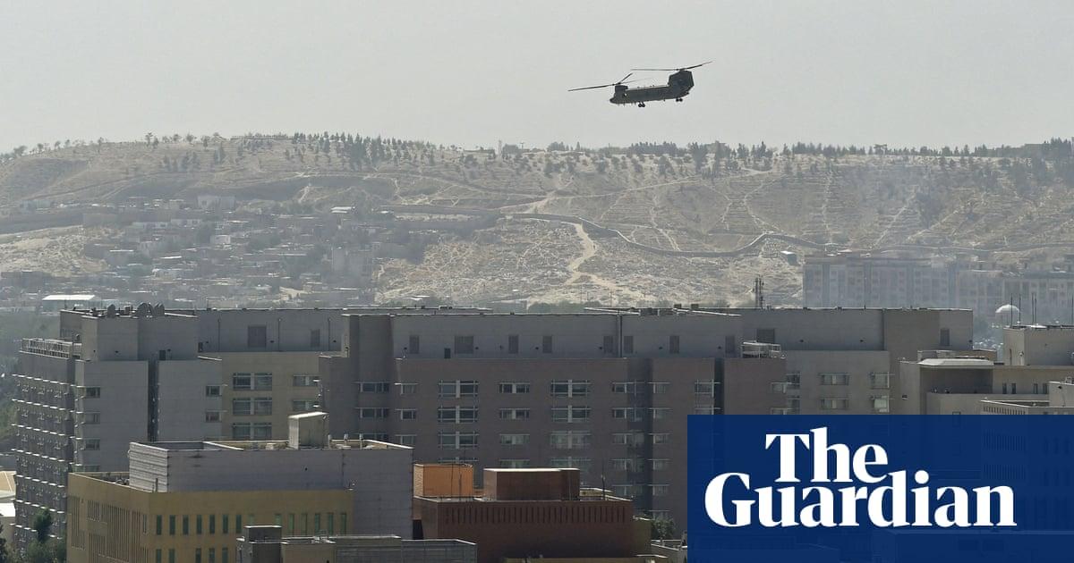 Taliban poised to take control of Kabul as US evacuates embassy