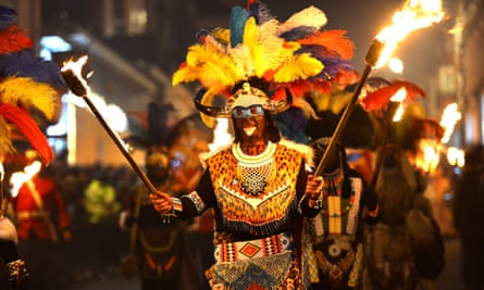 The Zulus warriors of Borough Bonfire Society in Lewes have come under fire in an online petition calling for and end to 'blacking up'.