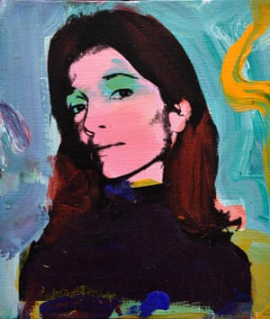 A 1973 portrait of Lee Radziwill by Andy Warhol.