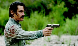 Josh Brolin in the 2007 film of No Country for Old Men by the Coen brothers.