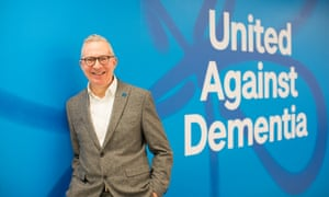 Jeremy Hughes, chief executive of the Alzheimer's Society.