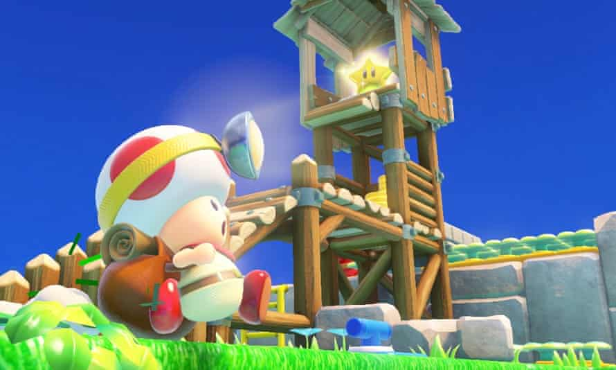 Captain Toad, seen here in his own ridiculously cute spin off game