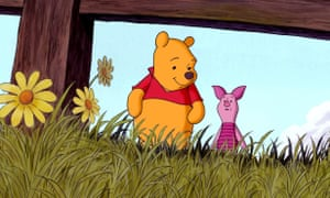 Piglet is scared of many things but he is always comforted by his friend Pooh.