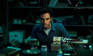 He stares a little too long ... Penn Badgley as Joe in You. Photograph: Netflix