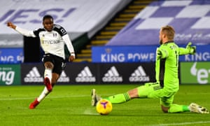 Ademola Lookman scores in the Fulham win at Leicester that he considers the highlight of the season so far.