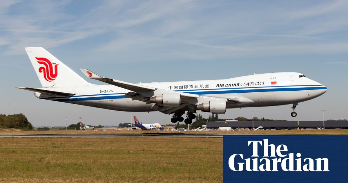 Engine parts drop from Boeing 747 cargo plane in Netherlands
