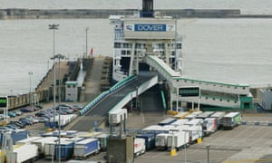 Four men were discovered inside a cargo trailer at Dover port in April 2015.