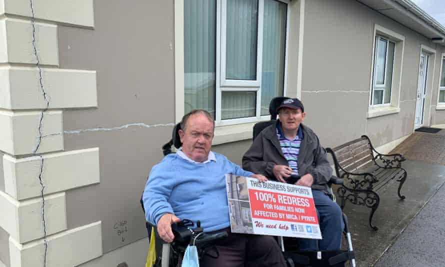 James and Joseph McLaughlin fear their home will be demolished