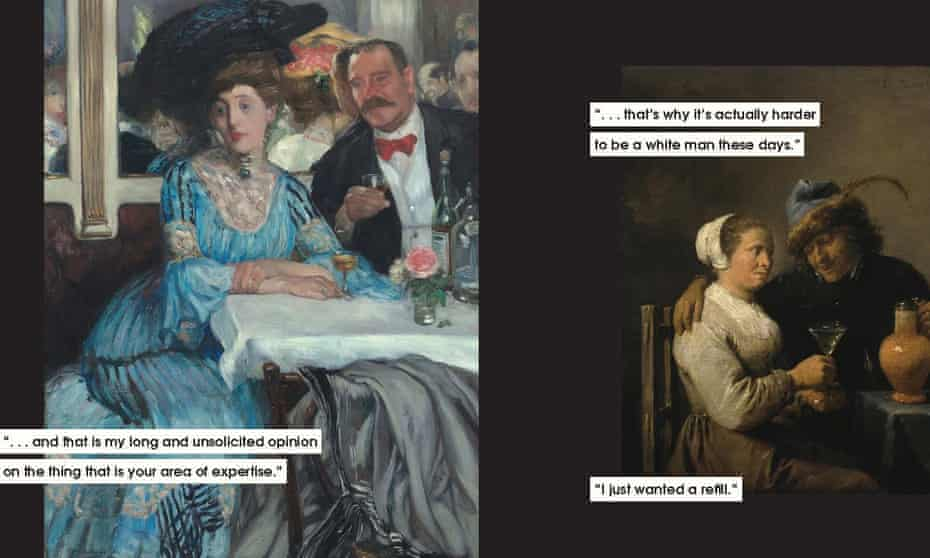 Images from Men to Avoid in Art and Life by Nicole Tersign.