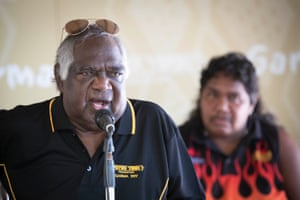 Gumatj clan leader and Yothu Yindi Foundation chairman Galarrwuy Yunupingu used the festival's key forum to announce he is taking legal action for loss of native title as well as destruction of dreaming sites.