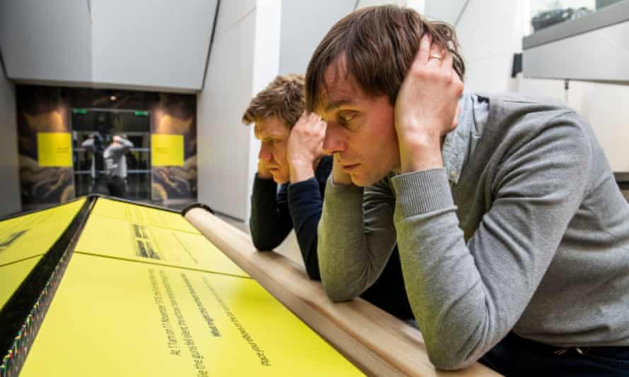 Field Music's Peter and David Brewis at Imperial War Museum