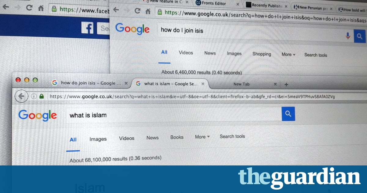 Search engines' role in radicalisation