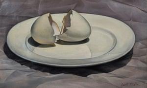 Broken Egg Shell, 1954.