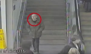 CCTV footage shows a man in London the day before he died on Saddleworth Moor